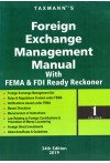 Taxmann's Foreign Exchange Management Manual with FEMA and FDI Ready Reckoner (2 Volumes)