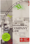 Introduction to Company Law (With Suppl. for Companies (Amendment) Act, 2015)