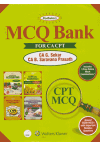 MCQ Bank for CA CPT (Includes 3 Free Online Mock Examinations) (Around 13500 MCQ's With Important Revision Questions)