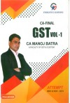 CA-Final-Indirect Tax - GST (Set of 2 Vols)(30 Marks MCQs covered in Question Bank)( Old and New Syllabus)