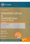 Industrial Labour and General Laws (Theory and MCQs) (CS - Executive) (As Per OMR Based Examination - Dec. 2018 Exam)