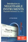 Introduction to Negotiable Instruments (Negotiable Instruments Act, 1881)