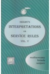 Swamy's Interpretations on Service Rules - Vol. V (S-12-D)