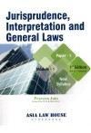 Jurisprudence, Interpretation and General Laws [Module - 1 (Paper-1)] For CS Executive - New Syllabus