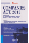 Companies Act, 2013  (As amended by The  Insolvency and Bankruptcy Code, 2016 (Act No. 31 of 2016), w.e.f.15-11-2016) (along with All exemption extracted under relevant sections, Notifications dated 26-12-2016)
