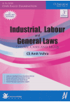 Industrial, Labour and General Laws (Theory, Cases and MCQs) (CS Executive Programme, Module-II Paper_7) (As Per ICSI's OMR Based Examination) (For June/December 2017 Examinations)