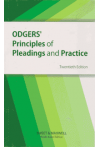 Odgers Principles of Pleadings and Practice