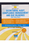 Lawpoint's CS Solutions - SECRETARIAL AUDIT, COMPLIANCE MANAGEMENT AND DUE DILIGENCE (With Theory Notes) (CS Professional Programme Module I Paper 2) (Last 26 Terms Papers solved) (Including December 2016 Paper Solved)