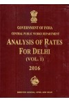 Analysis of Rates for Delhi 2016 (2 Volume Set)