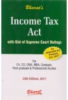 Income Tax Act (With Gist of Supreme Court Rulings) (As Amended by the Finance Act, 2017) (Pocket Edition - Paperback)