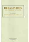 Defamation Law, Procedure and Practice
