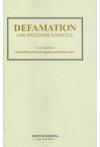Defamation Law, Procedure and Practice