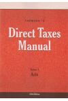 Taxmann's Direct Taxes Manual (3 Volume Set)