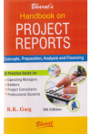Handbook on Project Reports (Concepts, Preparation, Analysis and Financing)