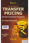 Law and Practice of TRANSFER PRICING (Domestic and International Transactions) (With Free download of Sample Transfer Pricing Reports)
