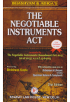 Bhashyam & Adiga's The NEGOTIABLE INSTRUMENTS ACT (with exhaustive case-law on Dishonour of Cheques including Specimen Notices & Complaints)