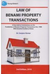 Law of Benami Property Transactions (A Descriptive Commentary on the Prohibition of Benami Property Transactions Act, 1988 With Detailed Guidance Notes)