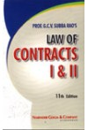 Subba Rao's Law of Contracts I & II