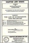 The Law of Investments and Securities