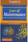 Law of Maintenance