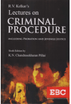 R.V. Kelkar's Lectures on Criminal Procedure (Including Probation and Juvenile Justice)