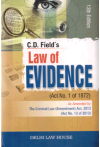 Law of Evidence (Act No. 1 of 1872) (As Amended by - The Criminal Law (Amendment) Act, 2013 (Act No. 13 of 2013)