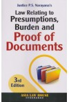 Law Relating to Presumptions, Burden and Proof of Documents
