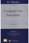 Guide to Company Law Procedures (Procedures, Rules, Compliances and Governance under the Companies Act, 2013) (4 Volume Set)
