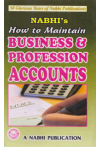 Nabhi's How to Maintain Business and Profession Accounts