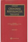 Sohoni's Criminal Referencer (4 Volume Set)
