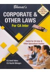 Corporate and Other Laws - For CA Inter (Useful for CA Inter & Other Specialised Studies [New Syllabus for May 2018 Exams] - With Free CD