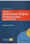 Universal's Guide to Assistant Public Prosecutor Examination with Solved Papers and Model Test Papers