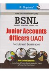 Popular Master Guide BSNL (Bharat Sanchar Nigam Ltd) Junior Accounts Officers [JAO] - Recruitment Examination (2000 + Solved Questions)
