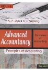 Advanced Accountancy (Volume - I) (Principles of Accounting)