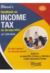 Handbook on Income Tax - For CA Inter/IPCC (A. Y. 2018-2019) - Useful for CA Inter/IPCC, CS (Exec.), CMA Inter & Other Specialised Studies [For May/Nov. 2018 Exams]