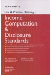 Law and Practice Relating to Income Computation and Disclosure Standards
