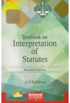 Textbook on Interpretation of Statutes