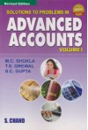 Solutions to Problems in Advanced Accounts - Volume 1