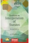 Textbook on Interpretation of Statutes