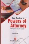 Law Relating to Powers of Attorney with Forms and Precedents