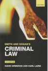 Smith and Hogan's Criminal Law (Pound)