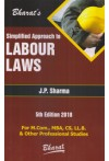 Simplified Approach to Labour Laws - For M.Com, MBA, CS, LL.B. and Other Professional Studies