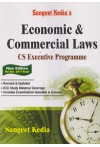 Sangeet Kedia's - Economic and Commercial Laws - CS Executive Programme (New Edition For Dec. 2017 Exam) (As per the Syllabus Prescribed by ICSI)