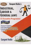 Sangeet Kedia's - INDUSTRIAL, LABOUR & GENERAL LAWS  - CS Executive Programme (Based on MCQ Pattern of Examination) (New Edition For Dec. 2017 Exam)