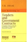 T.R. Desai Law Relating to Tenders and Government Contracts