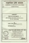 The Economics - I [The General Principles of Economics][For B.A. LL.B. (5-YDC)]
