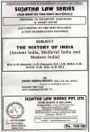 The History of India [Ancient India, Medieval India and Modern India] [For LL.B (General), LL.B. (Honours), B.A. LL.B., B.B.A. LL.B., B.Com. LL.B., B.Sc. LL.B. Etc.]