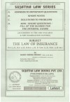 The Law of Insurance - [For LL.B, B.A. LL.B., B.B.A. LL.B., B.Com. LL.B., B.Sc. LL.B. Etc.]