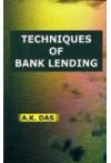 Techniques of Bank Lending