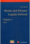 Words and Phrases Legally Defined (2 Volumes set)